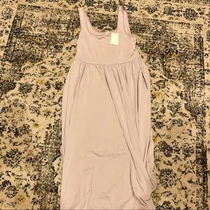 Wilfred Dresses - Wilfred Lavender Midi Dress with Pockets